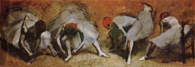 Edgar Degas A picture of Russian dance