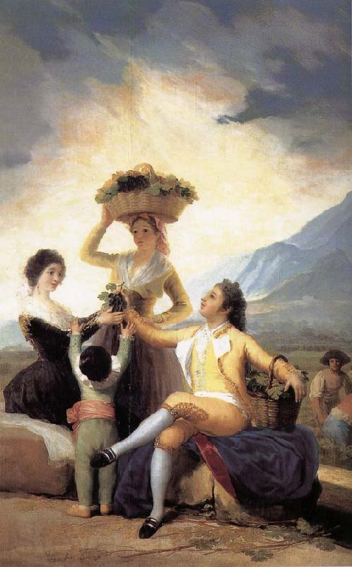 Francisco Goya Autumn