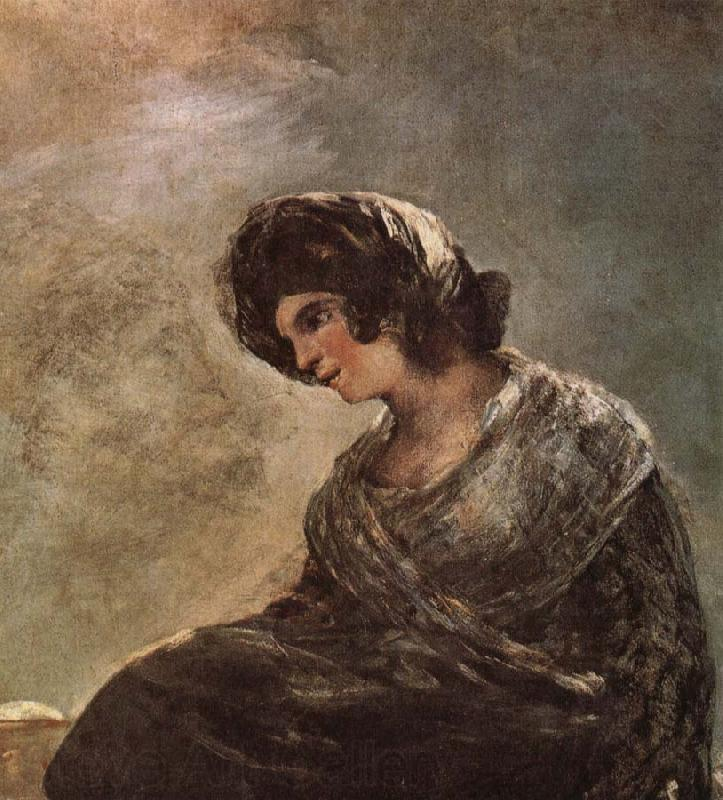 Francisco Goya Milkgirl from Bordeaux