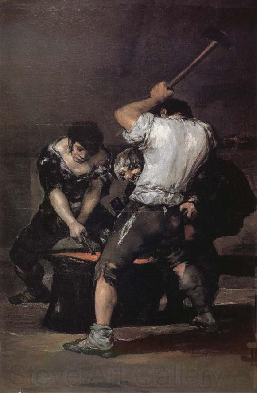 Francisco Goya The Forge