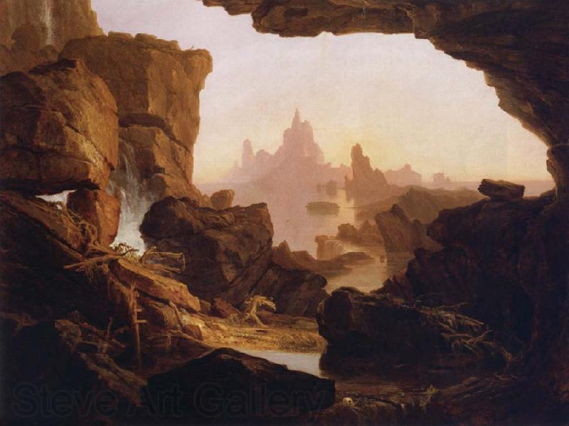 Thomas Cole The Subsiding of the  Waters of the Deluge