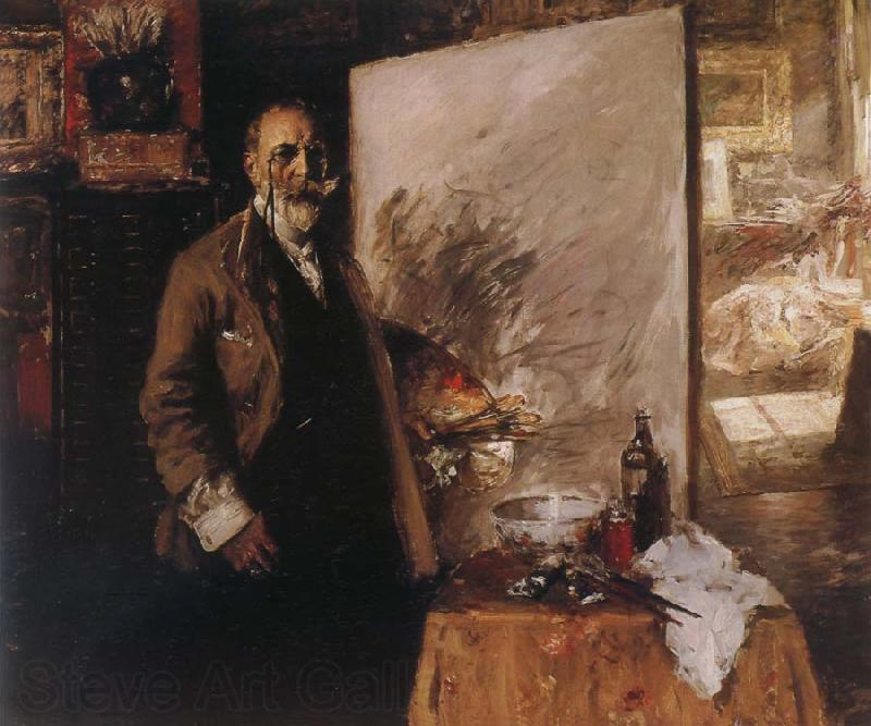 William Merritt Chase Self-Portrait