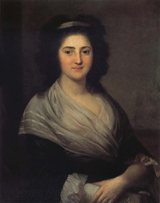 Anton Graff Portrait of Henriette Herz