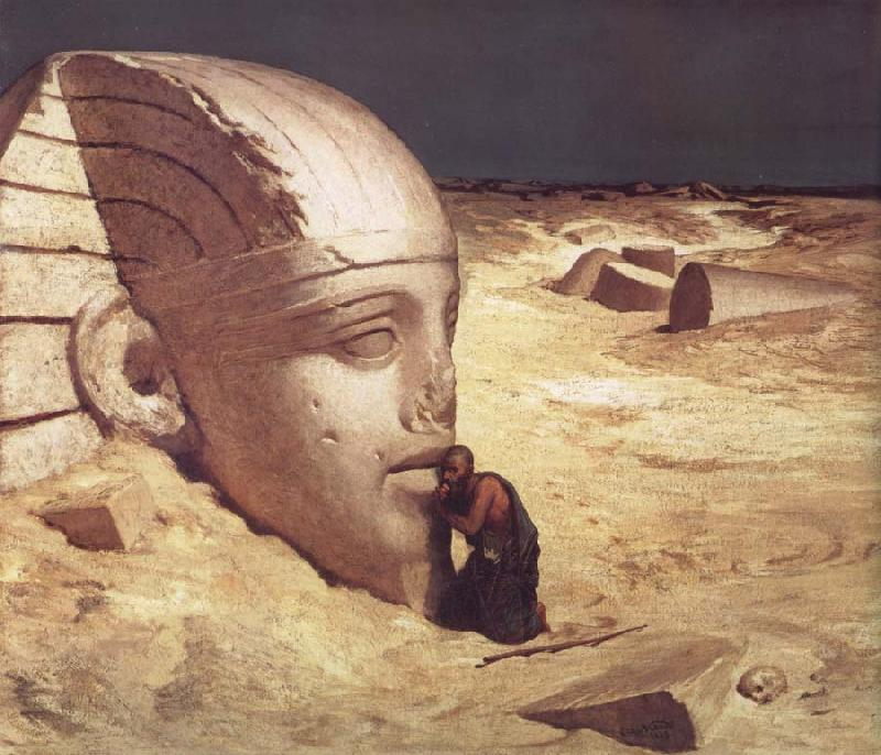 Elihu Vedder The Questioner of the Sphinx