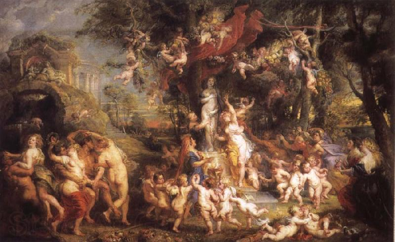 Peter Paul Rubens Feast of Venus