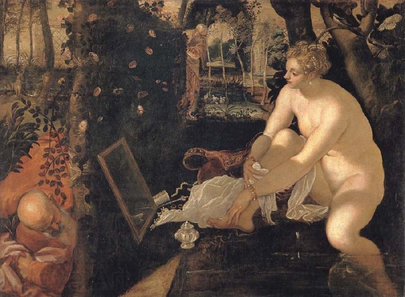 Tintoretto Susanna and the elders