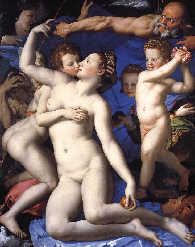 Agnolo Bronzino An Allegory with Venus and Cupid