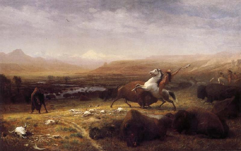 Albert Bierstadt Last of the Buffalo
