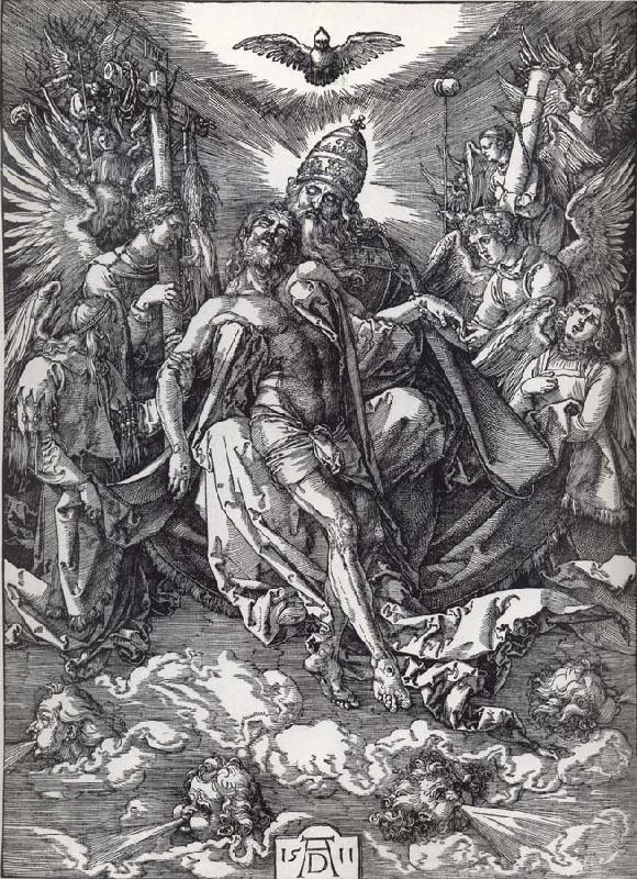 Albrecht Durer The holy trinity