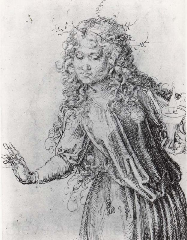 Albrecht Durer one of the wise virgins