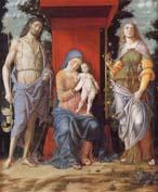 Andrea Mantegna The Virgin and Child with the Magadalen and Saint John the Baptist