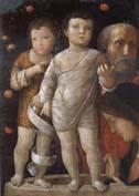 Andrea Mantegna The Holy Fmaily with Saint John