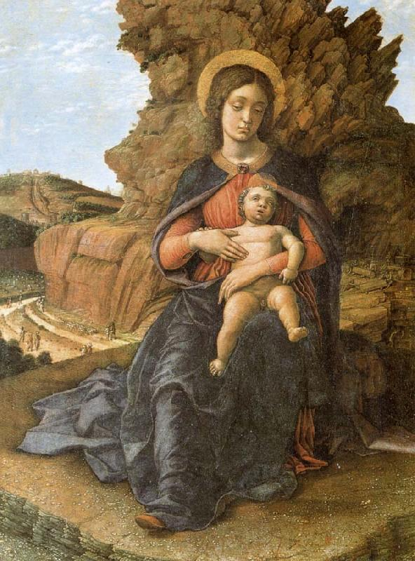 Andrea Mantegna The Madonna and the Nino