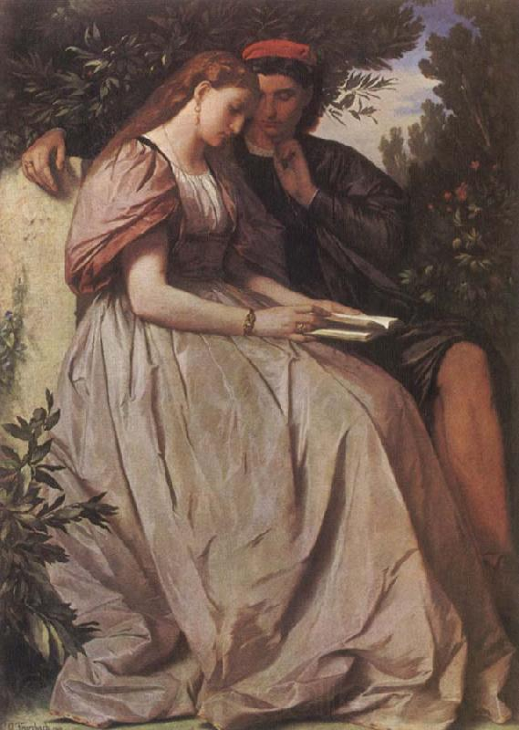 Anselm Feuerbach Paolo and Francesca