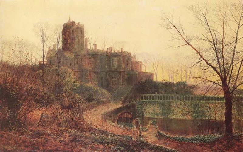 Atkinson Grimshaw The Deserted House