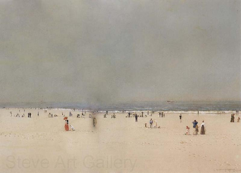Atkinson Grimshaw Sand,Sea and Sky A Summer Fantasy