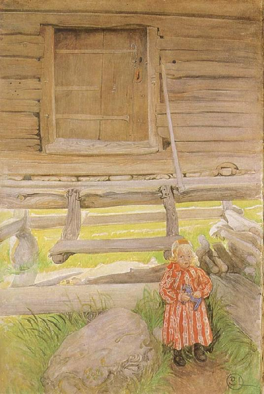 Carl Larsson A Rattvik Girl  by Wooden Storehous