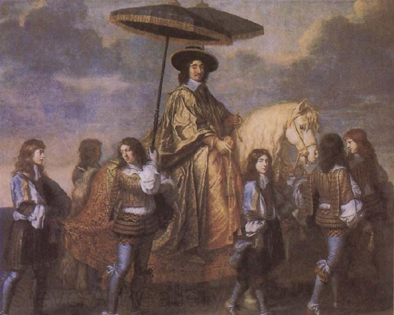 Charles le Brun Chancellor Seguier at the Entry of Louis XIV into Paris in 1660