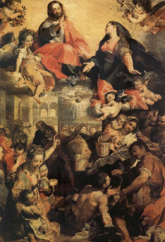 Federico Barocci The Madonna of the Town
