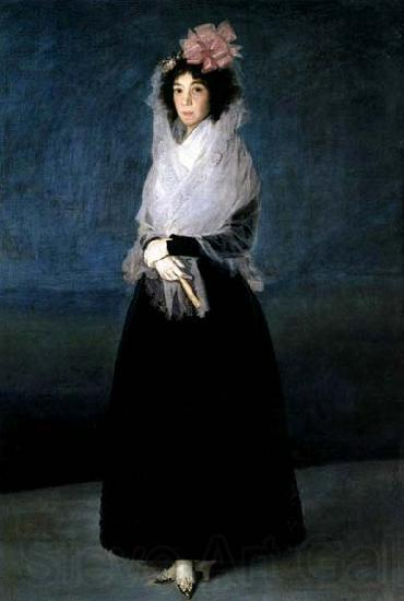 Francisco de goya y Lucientes The Marquesa de la Solana