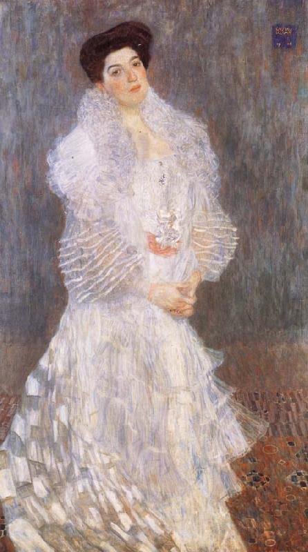 Gustav Klimt Portrait of Hermine Gallia
