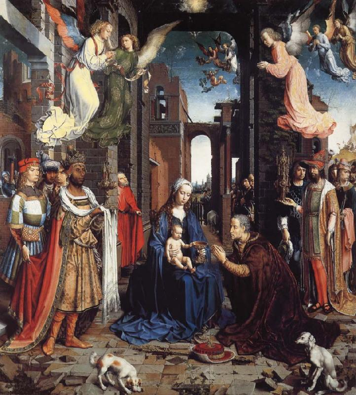 Jan Gossaert Mabuse THe Adoration of the Kings
