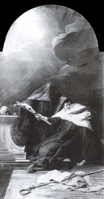 Jean Restout The death of St. Scholastica