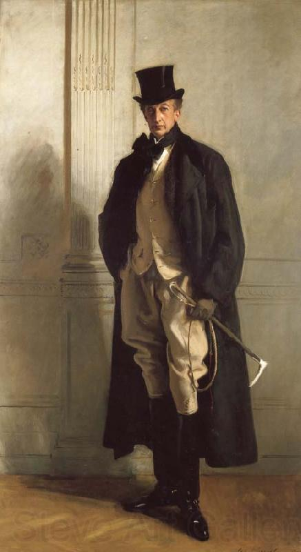 John Singer Sargent Lord Ribblesdale