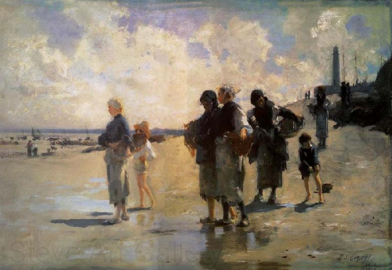 John Singer Sargent THe Oyster Gatherers of Cancale