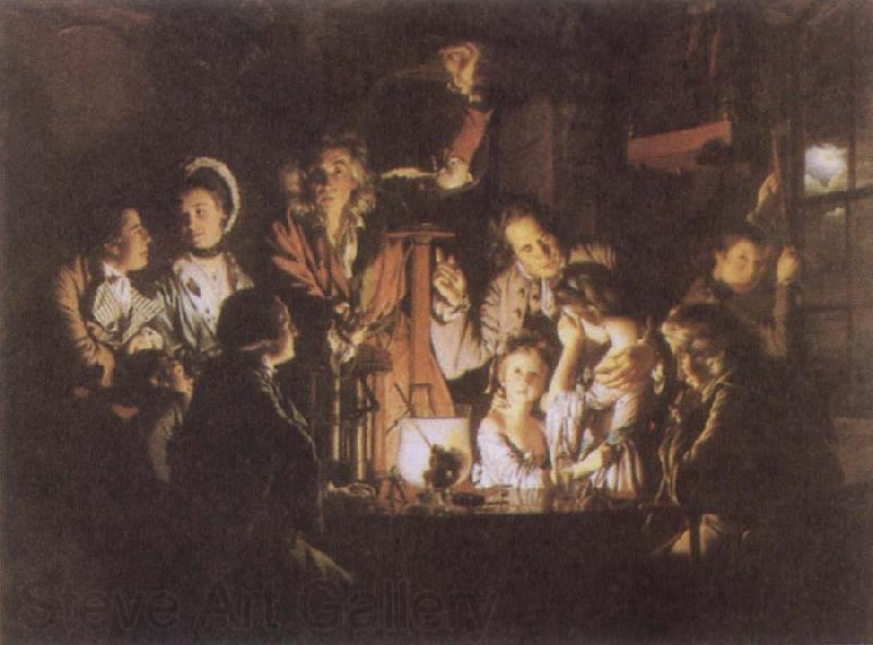 Joseph Wright An Experiment on a Bird in the Air Pump