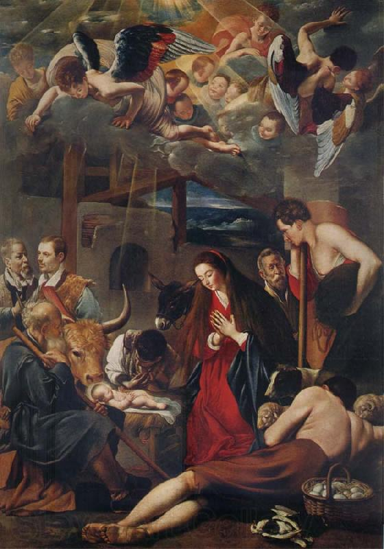 MAINO, Fray Juan Bautista The Adoration of the Shepherds