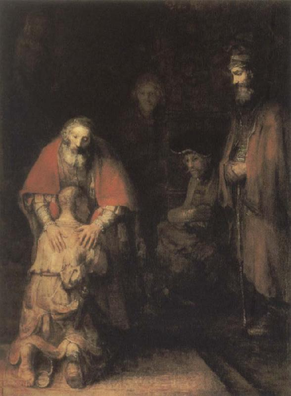 REMBRANDT Harmenszoon van Rijn The Return of the Prodigal son