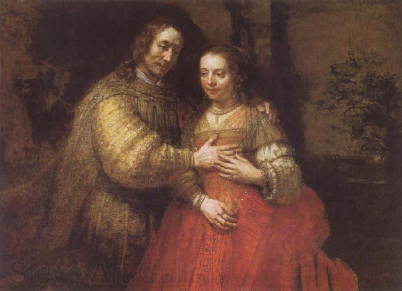 REMBRANDT Harmenszoon van Rijn Portrait of Two Figures from the Old Testament