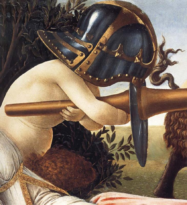 Sandro Botticelli Detail of Venus and Mars