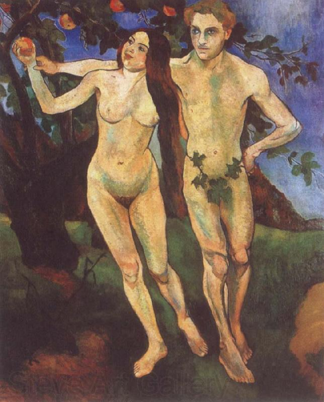 Suzanne Valadon Adam and Eve