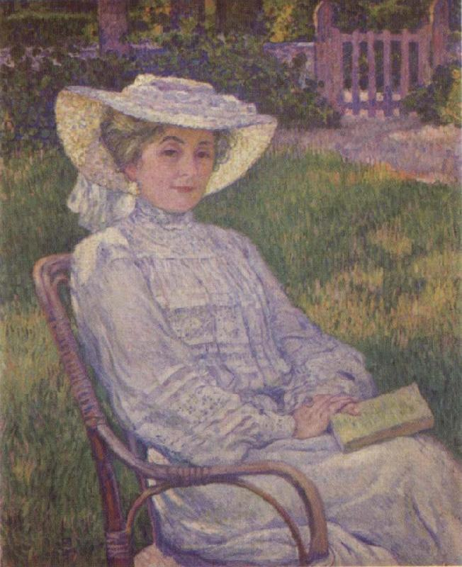 Theo Van Rysselberghe The Woman in White