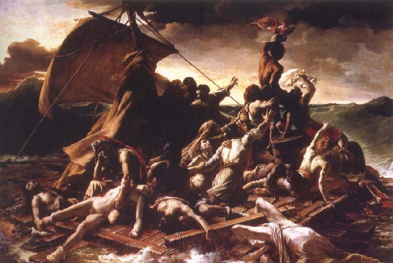 Theodore   Gericault Raft of the Medusa