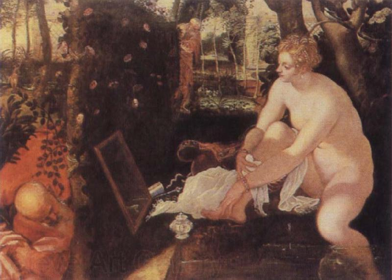 Tintoretto The Bathing Susama
