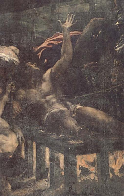 Titian Detail of  Martyrdom of St.Laurence