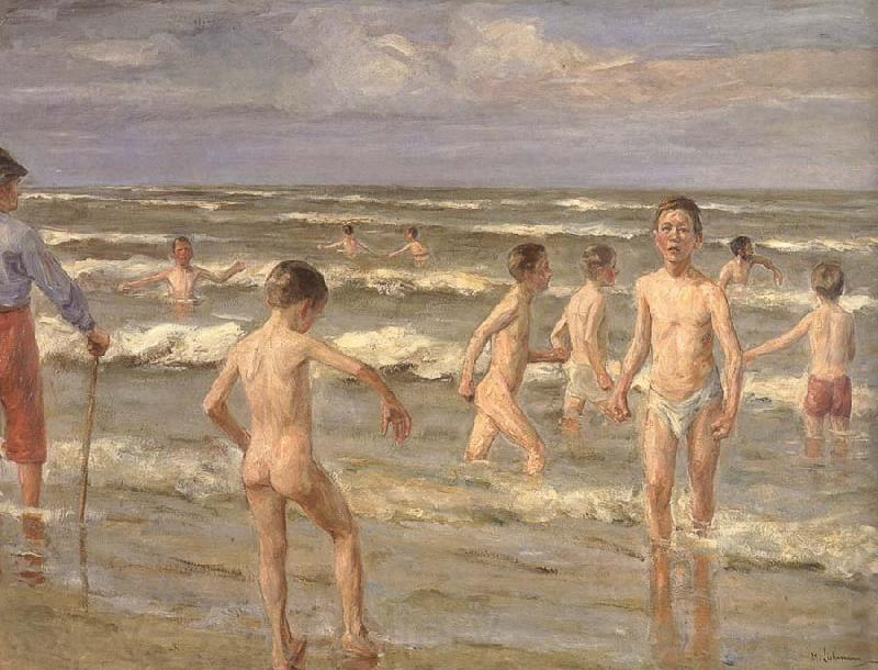 Walter Leistikow Bathing boy