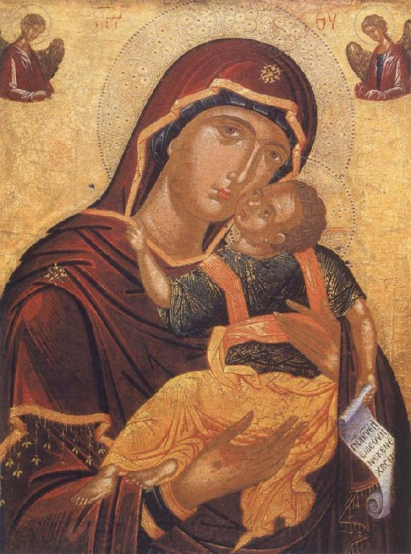 unknow artist The Virgin with child or virgin glykophilousa