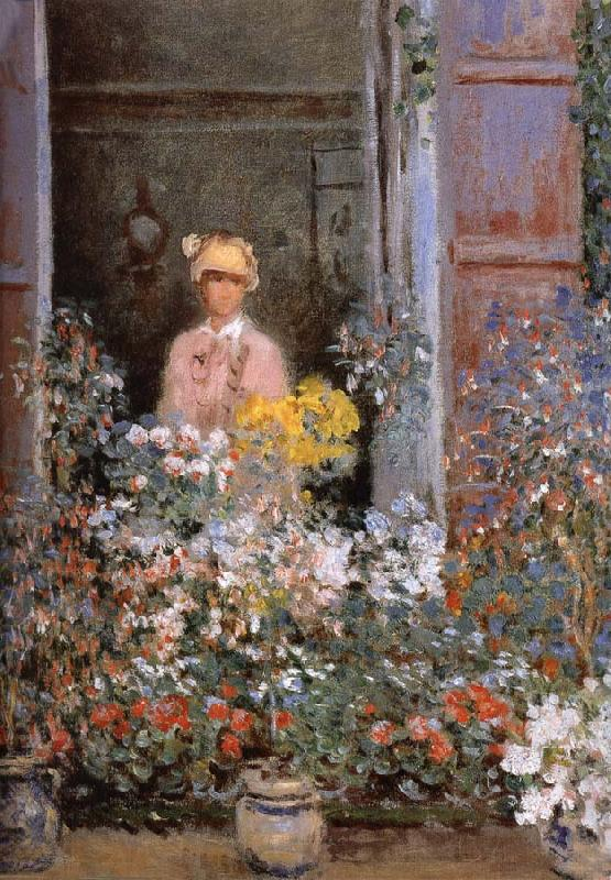 Claude Monet Camille at the Window