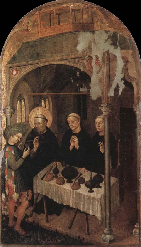 Niccolo di Pietro Gerini The HL. Benedikt blesses the cup with the poisoned wine