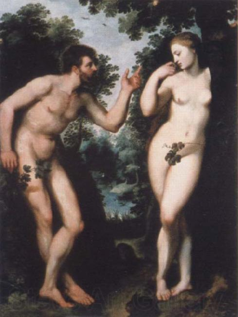 Peter Paul Rubens Adam and Eve