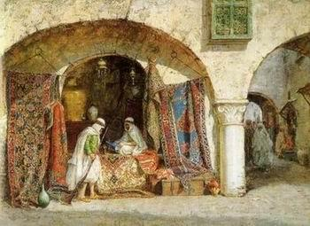 unknow artist Arab or Arabic people and life. Orientalism oil paintings  262