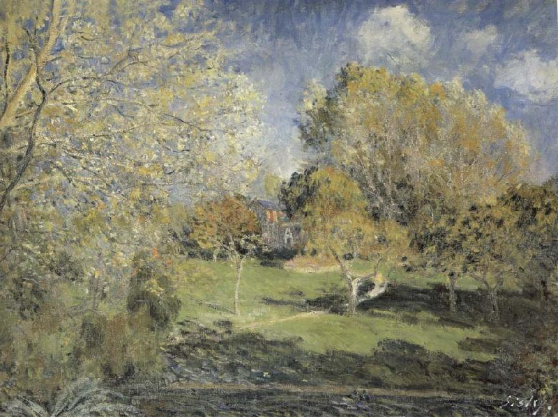 Alfred Sisley The Park