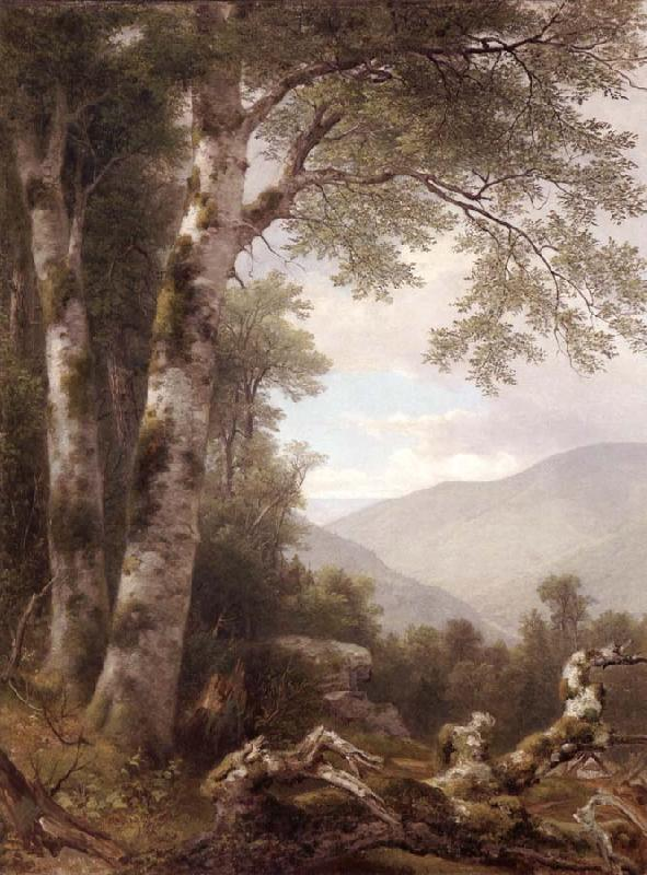 Asher Brown Durand Landscape with Birches