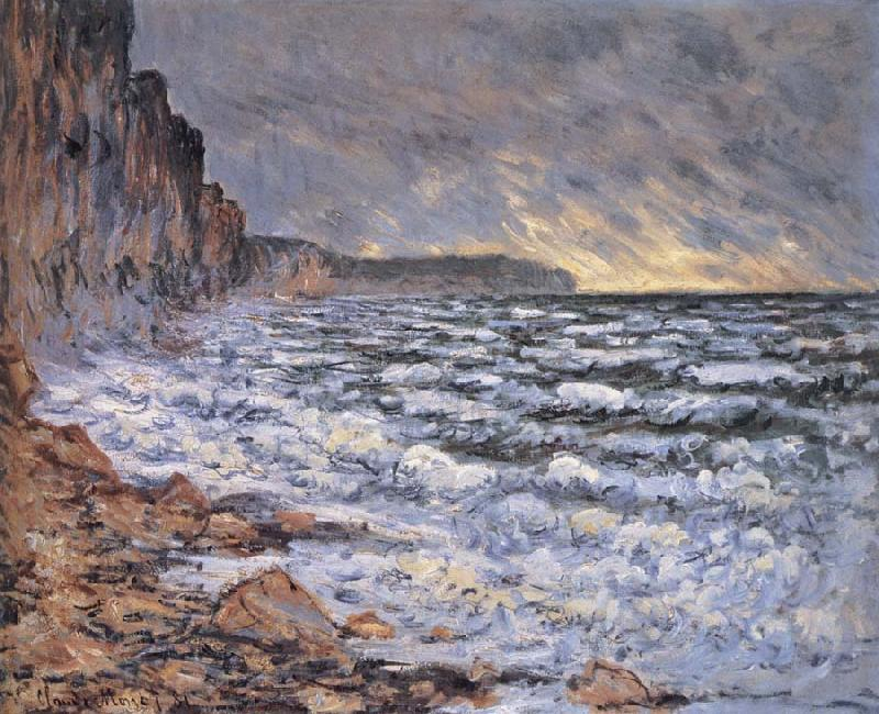 Claude Monet By the Sea at Fecamp
