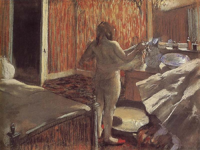 Edgar Degas Bather