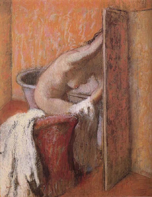 Edgar Degas Bath